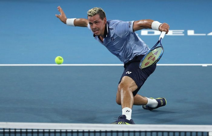Alex Bolt in action at the Adelaide International; Getty Images