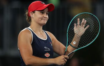 Ash Barty progresses to the Adelaide International final; Getty Images