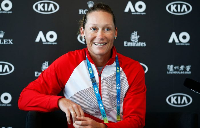 Sam Stosur is preparing to contest an 18th Australian Open; Getty Images