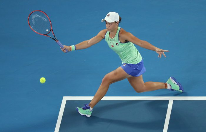 Ash Barty opens with a win at AO 2020; Getty Images