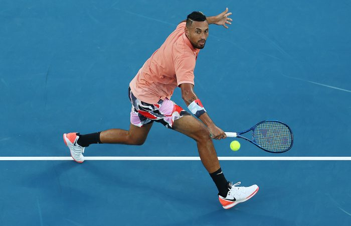Nick Kyrgios at Australian Open 2020; Getty Images