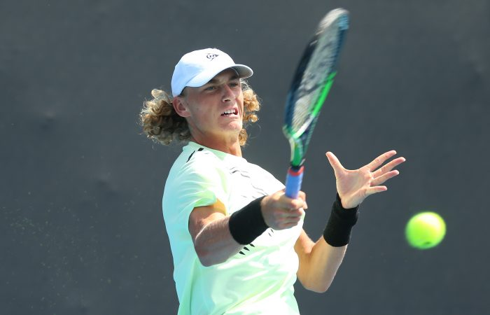 MAIN DRAW BOUND: Max Purcell has qualified for Australian Open 2020. Picture: Getty Images