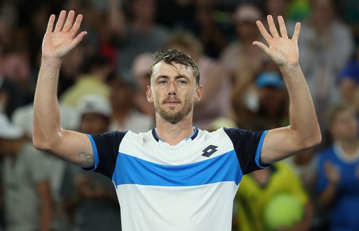 John Millman moves into the third round of Australian Open 2020; Getty Images