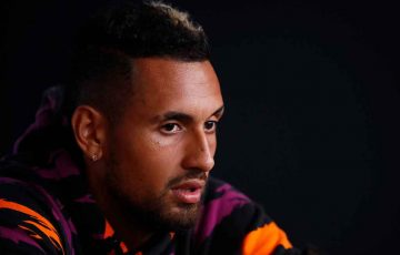 Nick Kyrgios ahead of AO 2020; Getty Images