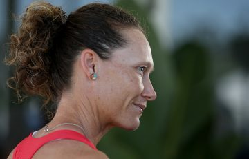 Sam Stosur at the Brisbane International. (Getty Images)