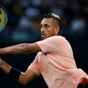 Nick Kyrgios at AO 2020; Getty Images