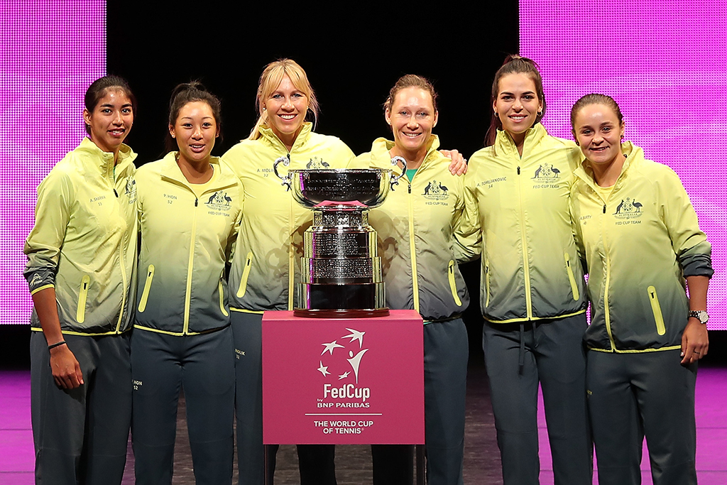 Australia draws Belarus, Belgium in Fed Cup Finals