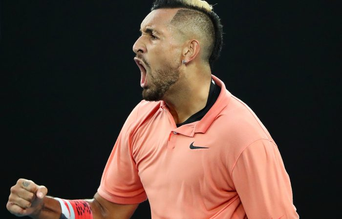 ON THE RISE: Nick Kyrgios is back in the world's top 20 after his Australian Open run. Picture: Getty Images