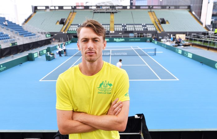 LEADER: John Millman at Memorial Drive in Adelaide. Picture: Getty Images