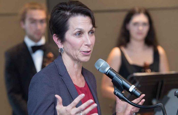 Jayne Hrdlicka at the inaugural GVw2020 summit.