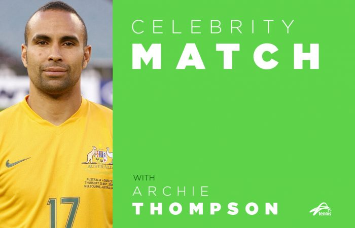 Celebrity Match with Archie Thompson