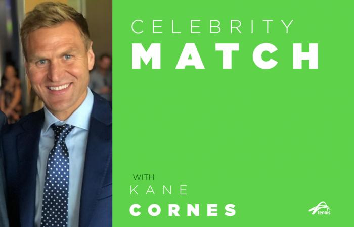 Celebrity Match with Kane Cornes