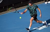 GRAND STAGE: Christopher O'Connell in action during Australian Open 2020. Picture: Getty Images