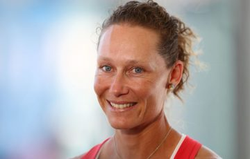 Sam Stosur is maintaining a positive outlook; Getty Images