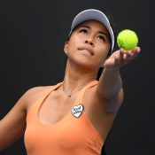 Lizette Cabrera in action at Australian Open 2020; Getty Images