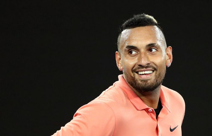 Nick Kyrgios during Australian Open 2020. Picture: Getty Images