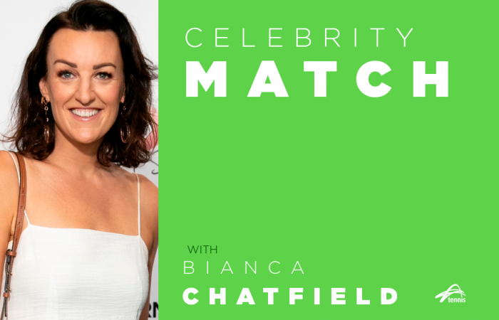 Celebrity Match with Bianca Chatfield.