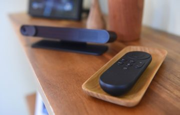 A television remote. Picture: Getty Images