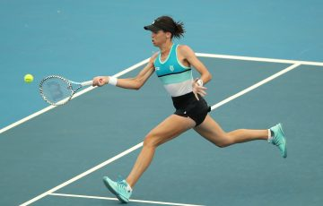 RETURNING: Ajla Tomljanovic in action at the Adelaide International earlier this year. Picture: Getty Images