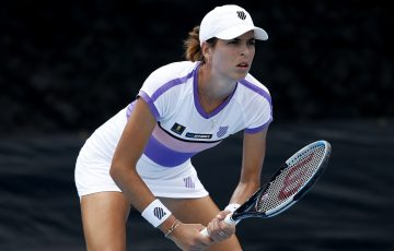 FOCUS: Ajla Tomljanovic ready to return during the UTR Pro Match Series in Florida. Picture: Getty Images