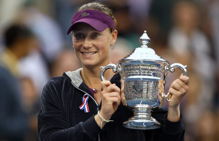CHAMPION: Sam Stosur with her US Open 2011 singles title. Picture: Getty Images