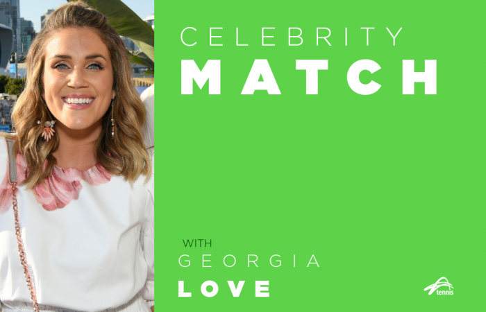 Celebrity Match with Georgia Love.
