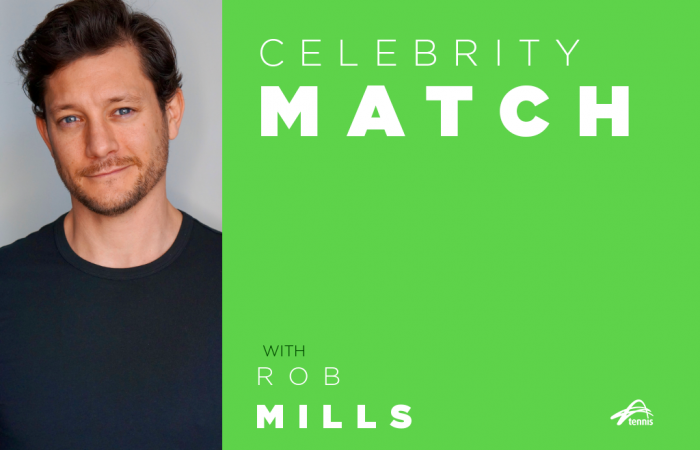Celebrity Match with Rob Mills.