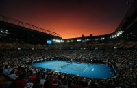 A scene from Australian Open 2020; Getty Images