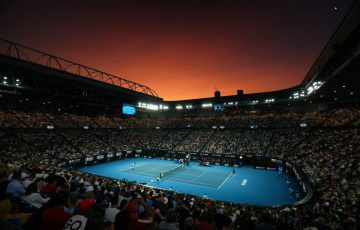 A scene from Australian Open 2020; Getty Images