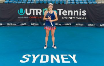 Ellen-Perez at the UTR Pro Tennis Series Sydney