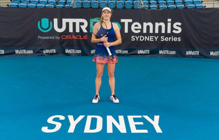 Ellen-Perez at the UTR Pro Tennis Series Sydney