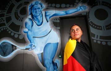 Mikayla Zahirovic is a two-time winner of the Evonne Goolagong Excellence award at the National Indigenous Tennis Carnival in Darwin; Getty Images