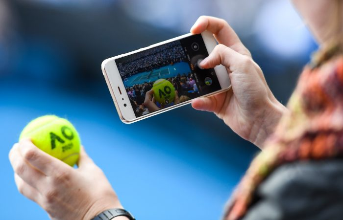 Technology is changing the fan experience in sport. Picture: Getty Images