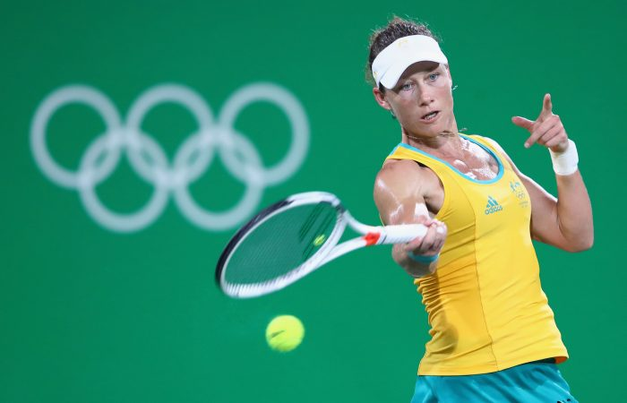 OLYMPICS: Sam Stosur made her fourth Olympic appearance at Rio 2016. Picture: Getty Images