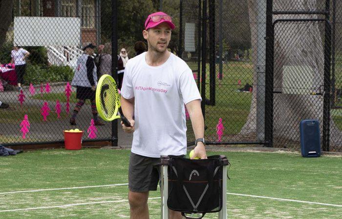 Jack Glennane from the Victorian Tennis Academy.