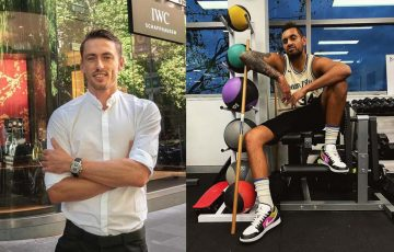 John Millman and Nick Kyrgios. Pictures: Instagram