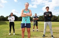 Ash Barty and friends celebrate Cairns tennis community