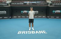 IN FORM: Alexander Crnokrak won the third UTR Pro Tennis Series event in Brisbane at the weekend.