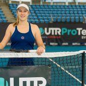 Ellen Perez at the UTR Pro Tennis Series event in Sydney