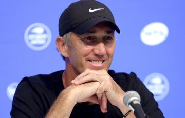 Australian tennis coach Darren Cahill. Picture: Getty Images