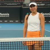 LIzette Cabrera at Pat Rafter Arena in Brisbane