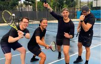 The court is calling: Aussies out to play