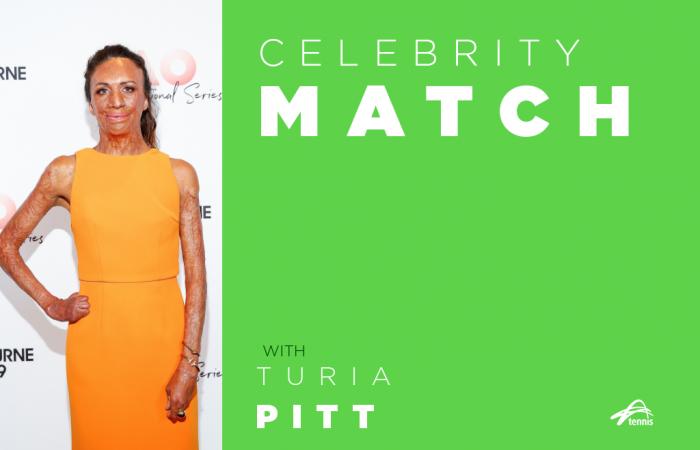 Celebrity Match with Turia Pitt.