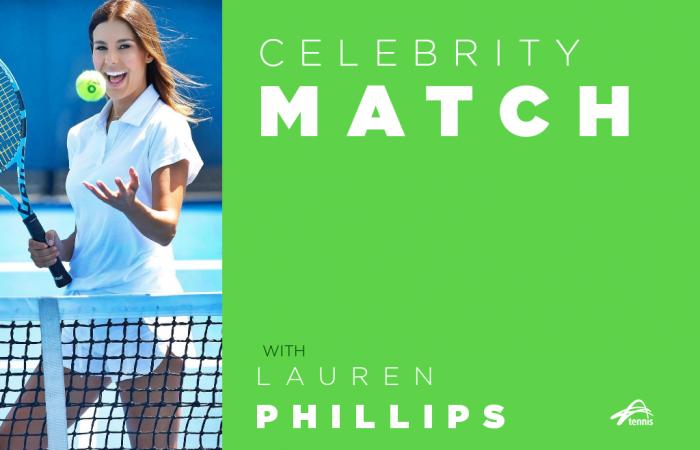 Celebrity Match with Lauren Phillips
