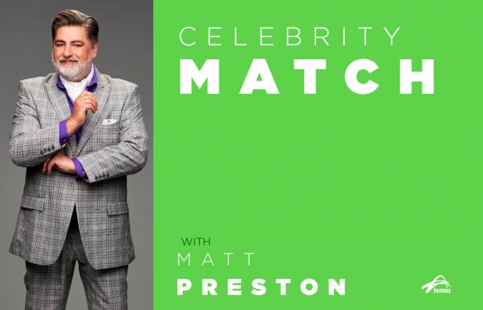 Celebrity Match with Matt Preston