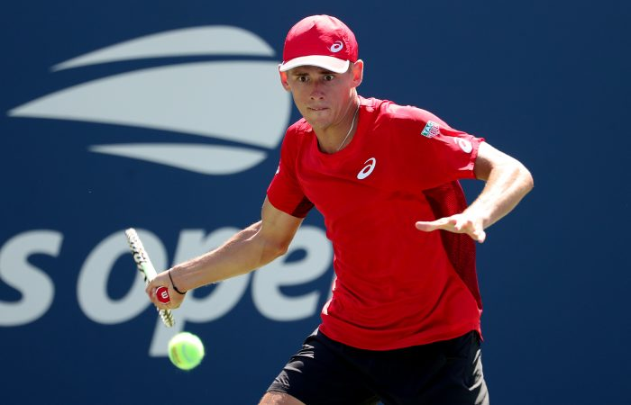 ONE TO WATCH: Alex de Minaur made the US Open fourth round in 2019. Picture: Getty Images