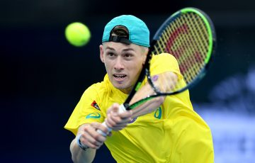 IN FORM: Alex de Minaur. Picture: Getty Images
