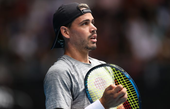 LOOKING FORWARD: Alex Bolt at the Australian Open earlier this year. Picture: Getty Images