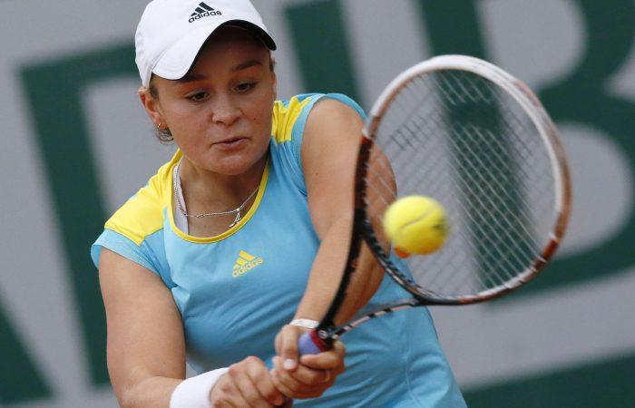 BREAKTHROUGH: Ash Barty in action at Roland Garros in 2013. Picture: Getty Images