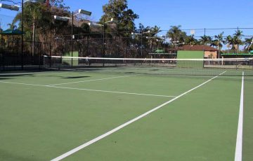 Pine Country Tennis Centre in Brisbane